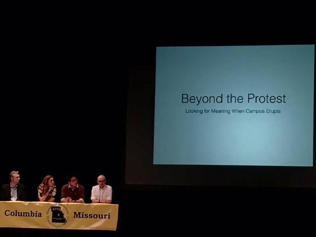 The Role of Journalism at Mizzou
