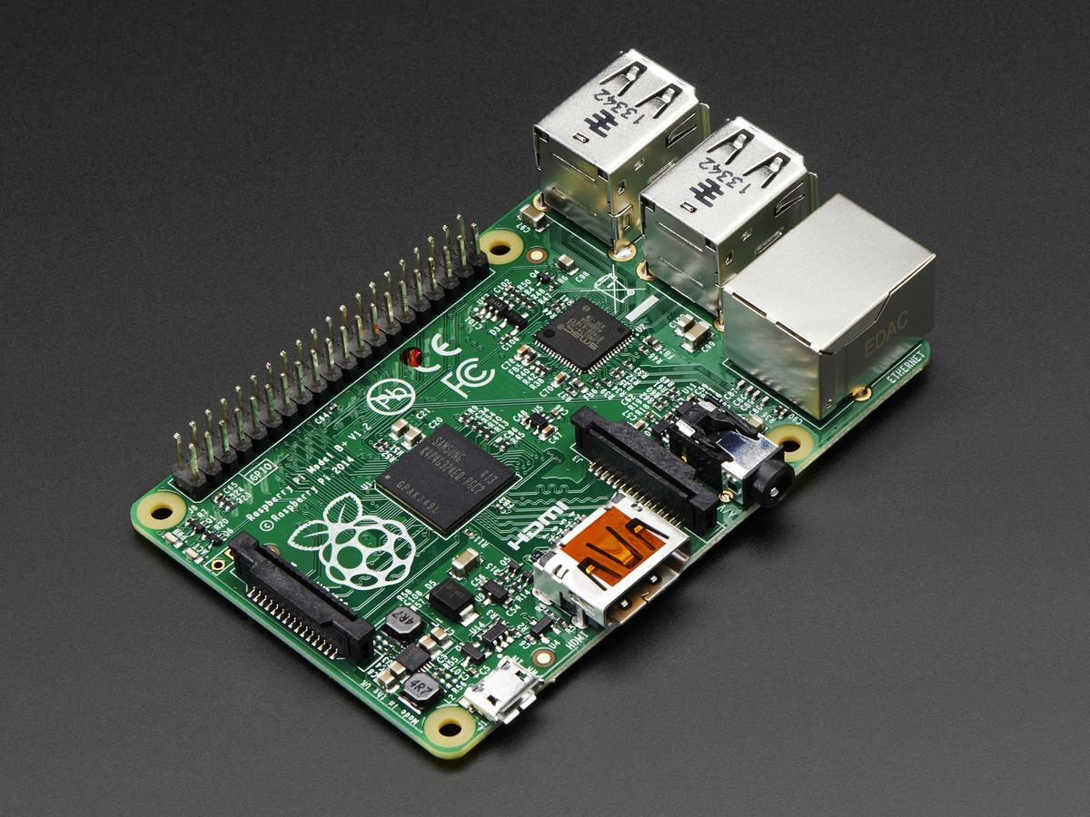 Raspberry Pi, model 3 from Adafruit.com