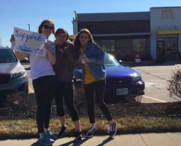 Women's Tennis Takes On McDonald's