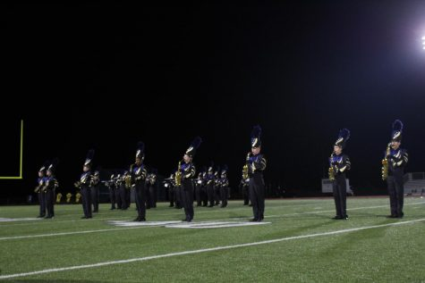 Marching Band, Golden Girls and Cheerleader 9/17 Performance