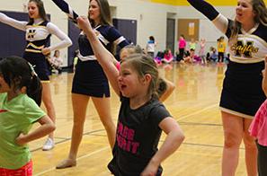 1.30 Cheer & Dance Kiddie Clinic